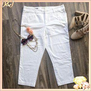 💎✨ White Capri Pants